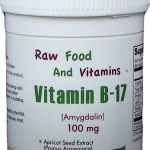 1 Bottle of 100mg Vitamin B17 (100 TABLETS)