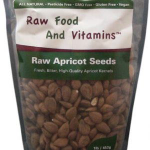 1 Pound Bag of Raw Apricot Seeds approximately 600 seeds