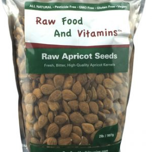 2 Pound Bag of Raw Apricot Seeds ( 2 Pounds Total )