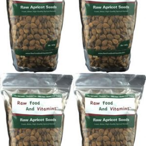 4 of the 2 Pound Bags of Raw Apricot Seeds ( 8 Pounds Total )