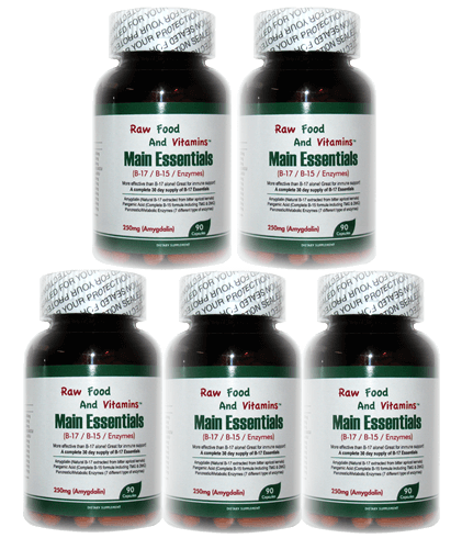 5 Bottle of Main Essentials - 12 in 1 Formula (450 CAPSULES Total)