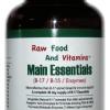 1 Bottle of Main Essentials - 12 in 1 Formula Vitamin B17 Plus (90 CAPSULES)