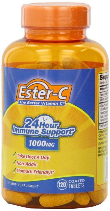1 Bottle Vitamin C - Ester-C 1000mg ~ 120 Tablets