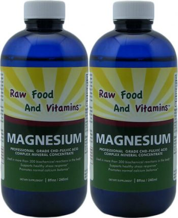 2 Bottles Ionic Magnesium Mineral Concentrate 8oz Each