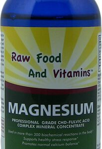 1 Bottle Ionic Magnesium Mineral Concentrate 8oz