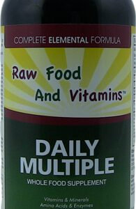 1 Bottle of Whole Food Multi-Vitamin Minerals Plus... 16oz