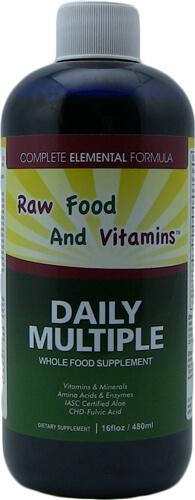 1 Bottle of Whole Food Multi-Vitamin Minerals Plus... 16oz