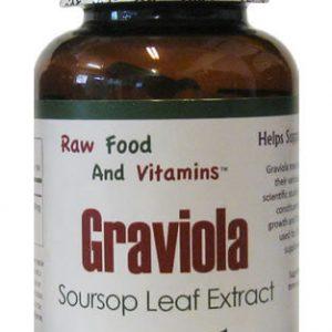 Graviola 650 mg 100 Capsules