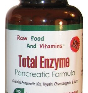 Total Enzymes Potent Metabolic / Pancreatic Formula 100 Capsules