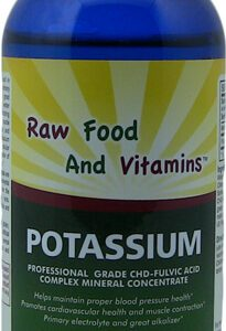1 Bottle of Liquid Ionic Potassium Supplement 8oz