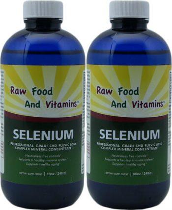 2 Bottles of Selenium Concentrate 8oz Each