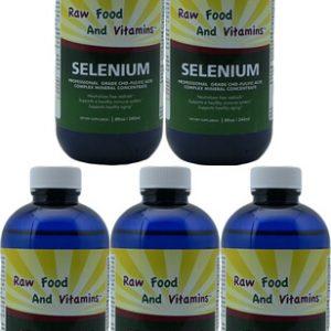 5 Bottles of Selenium Concentrate 8oz Each